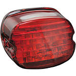 Kuryakyn LED Tail Light Conversion - Low Profile Red - Kuryakyn Cruiser Parts
