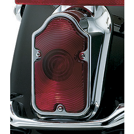 Kuryakyn LED Tail Light Conversion - Tombstone - 2008 Harley Davidson Dyna CVO - FXDSE2 Kuryakyn ISO Grips
