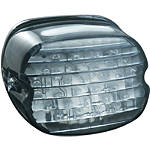 Kuryakyn Panacea LED Tail Light - Laydown Smoke - Cruiser Tail Lights
