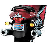 Kuryakyn Tail Light Top Trim -  Motorcycle Miscellaneous Body