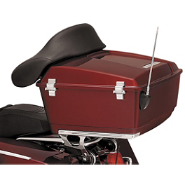 Kuryakyn Tour-Pak Hinge Covers - 2002 Harley Davidson Road King CVO - FLHRSEI Kuryakyn Plug-In Driver Backrest