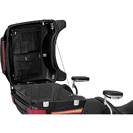 Kuryakyn Tour-Pak Lid Organizer - Kuryakyn Trunk Latch Accent