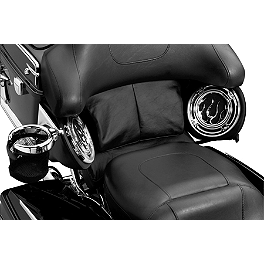 Kuryakyn Tour-Pak Pad & Filler Panel - 2013 Honda Shadow Phantom 750 - VT750C2B Kuryakyn Footpeg Adapters - Front