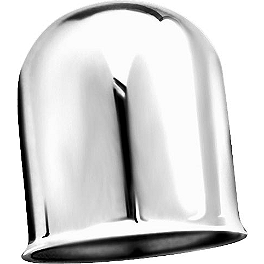 Kuryakyn Trailer Hitch Ball Cover - Kuryakyn Heat Shield For Crusher Mufflers