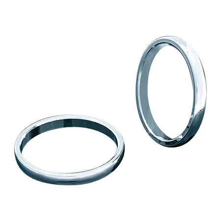 Kuryakyn Smooth Trim Rings For Transformer Grips - Main