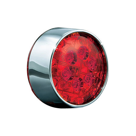 Kuryakyn Panacea LED Rear Turn Signal Inserts - Bullet Red - Main
