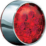 Kuryakyn Panacea LED Rear Turn Signal Inserts - Bullet Red - Kuryakyn Cruiser Parts