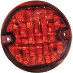 Kuryakyn Panacea LED Rear Turn Signal Inserts - Flat Red - Kuryakyn Cruiser Parts