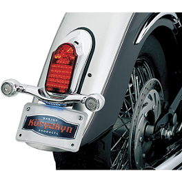 Kuryakyn Tombstone Tail Light - 2009 Yamaha V Star 650 Midnight Custom - XVS65M Kuryakyn Clutch Cable Ferrule Accent