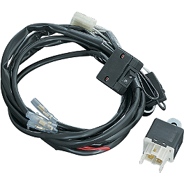 Kuryakyn Halogen Silver Bullet Wiring & Relay Kit - Kuryakyn ISO Stirrups Without Adapters