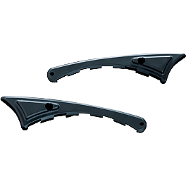 Kuryakyn Replacement Wear Guards For Flip Blades - 1998 Honda Magna 750 - VF750C Kuryakyn Footpeg Adapters - Front