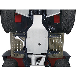 Kawasaki Genuine Accessories Middle Skid Plate - 2010 Kawasaki PRAIRIE 360 4X4 Kawasaki Genuine Accessories Front CV Joint Guards