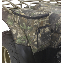 Kawasaki Genuine Accessories Rear Fender Bag - Black - Kawasaki Genuine Accessories Front Rack Bag - Realtree