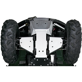 Kawasaki Genuine Accessories Front Skid Plate - 2009 Kawasaki BRUTE FORCE 650 4X4i (IRS) Kawasaki Genuine Accessories Middle Skid Plate