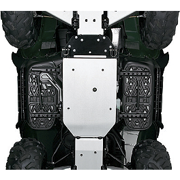 Kawasaki Genuine Accessories Middle Skid Plate - 2012 Kawasaki BRUTE FORCE 750 4X4i (IRS) Warn Front A-Arm Body Armor