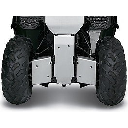 Kawasaki Genuine Accessories Rear Skid Plate - 2012 Kawasaki BRUTE FORCE 750 4X4i (IRS) Warn Front A-Arm Body Armor