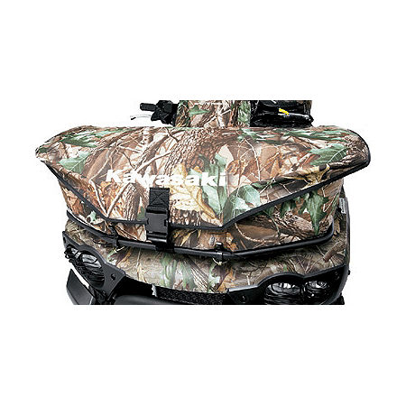 Kawasaki Genuine Accessories Front Rack Bag - Realtree - Main