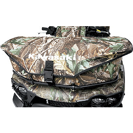 Kawasaki Genuine Accessories Front Rack Bag - Realtree - Kawasaki Genuine Accessories Rear Fender Bag - Black
