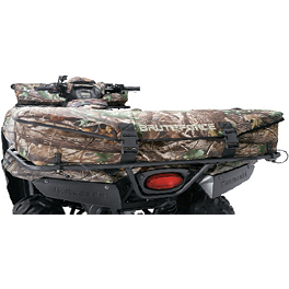 Kawasaki Genuine Accessories Rear Rack Bag - Black - Kawasaki Genuine Accessories Front Rack Bag - Realtree