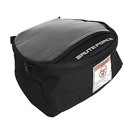 Kawasaki Genuine Accessories Tank Bag - Black - Kawasaki Genuine Accessories Handlebar Bag - Black