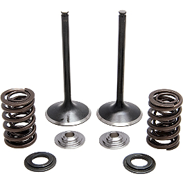 Kibblewhite Stainless Steel Intake Valve Kit - 2009 Honda CRF450X Cometic Top End Gasket Kit