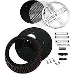 LA Choppers XXX Big Air Kit - Chrome - Cruiser Air Filters, Cleaners & Fuel Filters