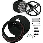 LA Choppers XXX Big Air Kit - Black - Cruiser Air Filters, Cleaners & Fuel Filters