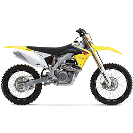 "Limited Rim Decals - Suzuki 19""/21"" - 2004 Suzuki RMZ250 Factory Effex DX1 Backgrounds Standard - Suzuki"