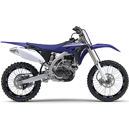 "Limited Rim Decals - Yamaha 19""/21"" - 1999 Yamaha YZ400F Factory Effex DX1 Backgrounds Works - Yamaha"