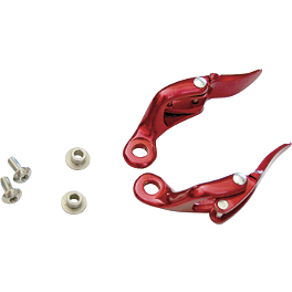 Leatt Hinge Pack - Aluminum - Leatt Hinge Pack - Red (Pro)