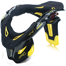 Leatt Pro Neck Brace - Alpinestars Carbon Bionic Neck Support