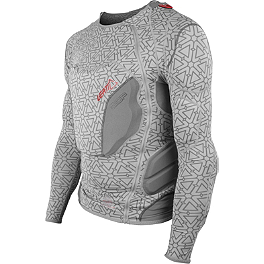 Leatt Youth 3DF Body Protector - 2014 Troy Lee Designs Shock Doctor Youth UPL7855-HW Base Protective Long Sleeve Shirt