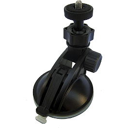 Liquid Image EGO Series Suction Cup Mount - Alpinestars Armstrong 210 Flexfit Hat
