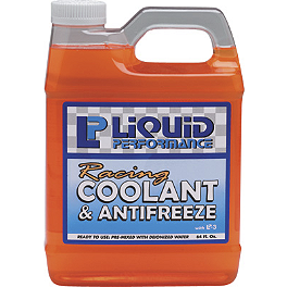 Liquid Performance Racing Coolant & Antifreeze - 64oz - Motul Motocool Factory Line 25 Coolant
