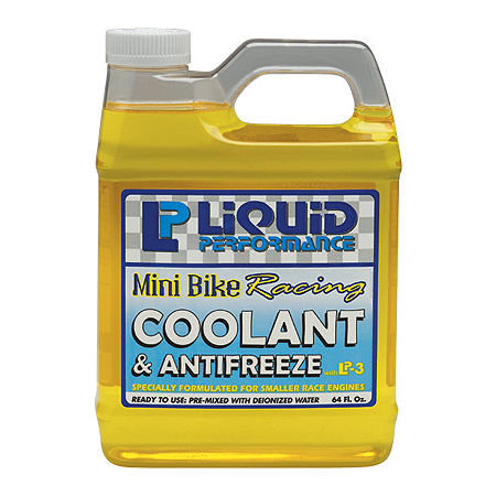 Liquid Performance Mini Bike Racing Coolant & Antifreeze - 64oz - Main
