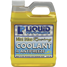 Liquid Performance Mini Bike Racing Coolant & Antifreeze - 64oz - Wiseco 2-Stroke Piston - .010