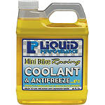Liquid Performance Mini Bike Racing Coolant & Antifreeze - 64oz - Liquid Performance Dirt Bike Fluids and Lubrication
