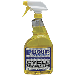 Liquid Performance Cycle Wash - 32 oz - Chain Cleaning Brush