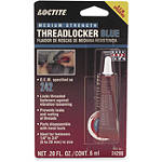 Loctite Blue 242 Threadlocker - 6ml - Unbranded Motorcycle Fluids and Lubricants