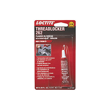 Loctite Red 262 Threadlocker - 6ml - Main