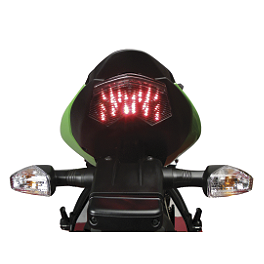 Lockhart Phillips Afterburner LED Blinker Tail Light - 2006 Kawasaki ZX636 - Ninja ZX-6R Lockhart Phillips Afterburner LED Blinker Tail Light