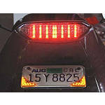 Lockhart Phillips Bat Ray LED Turn Signals -  Cruiser Lights & Lighting