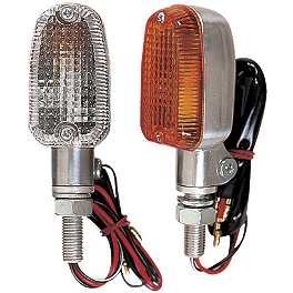 Lockhart Phillips Aluminum Series Turn Signals - BikeMaster Mini Stalk Round Turn Signals