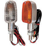 Lockhart Phillips Aluminum Series Turn Signals - Lockhart Phillips Dirt Bike Lights and Electrical