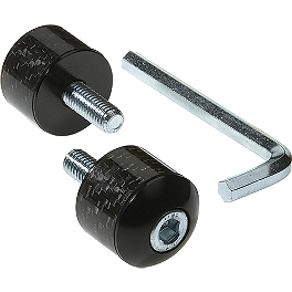 Lockhart Phillips Racing Carbon Inlay Bar End W/O Rubber Mount - Lockhart Phillips Carbon Inlay Slider Button Screws