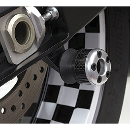 Lockhart Phillips Carbon Inlay Swingarm Spools - 2009 Suzuki GSX-R 600 Lockhart Phillips Carbon Fiber Frame Sliders