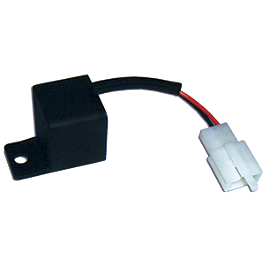 Lockhart Phillips LED Turn Signal Flasher Relay - Universal - Lockhart Phillips Carbon Inlay Swingarm Spools