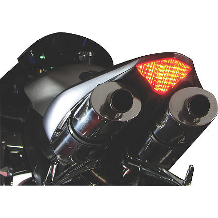 Lockhart Phillips LED Tail Light With Integrated Turn Signals - Clear - Main