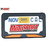 Lockhart Phillips LED Stealth License Plate Frame - Lockhart Phillips Dirt Bike Cruiser Parts