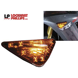 Lockhart Phillips Turn Six Signal - 2013 Yamaha V Star 1300 - XVS13 AKO Racing LED Integrated Tail Light